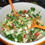 dazu lecker Salat